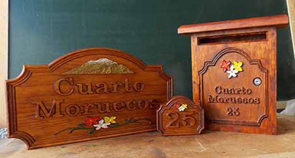 Tallas en madera carteles de madera personalizados - Casa letras madera ...