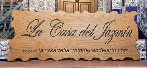 Carteles de madera para negocios - Casa letras madera ...