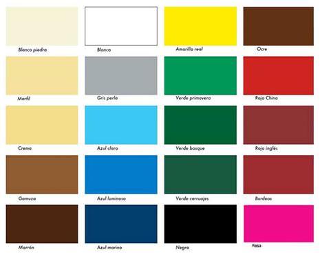 Nombres de madera - Nombres de colores de pinturas ...
