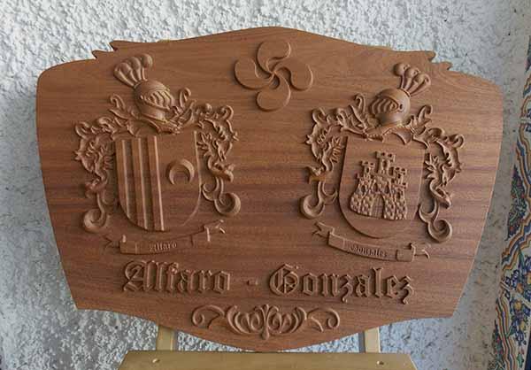 escudo herldico doble modelo clsico vasco
